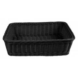 Brödkorg 38x29cm, svart