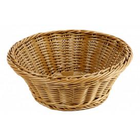 Brödkorg Ø 23cm, brun