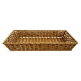 Brödkorg 53x32,5cm, brun