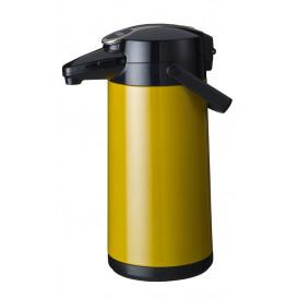Bonamat pumptermos 2,2 liter Gul Metallic